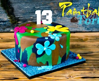 The Paintball Cake