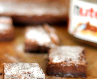 Brownies alla Nutella di Nigella Lawson