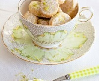 Lime Melting Moment Cookies