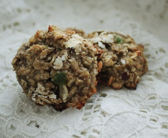 Cooking : oatmeal-banana cookies