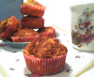PROTIV PREHLADE: MUFFINI S JABUKAMA I CIMETOM / GET-WELL FOOD: APPLE AND CINNAMON MUFFINS