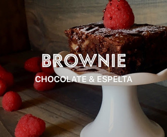Brownie Chocolate Negro con Harina Espelta