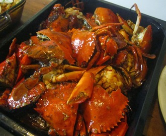 CRABS in SWEET CHILI-GARLIC SAUCE
