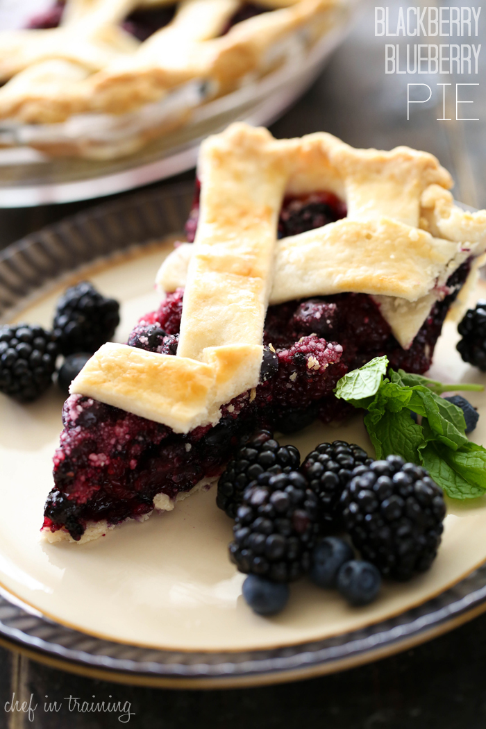 Blackberry Blueberry Pie