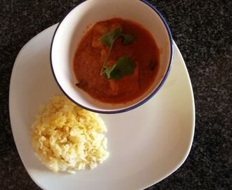 Fish Curry And Spiced Rice