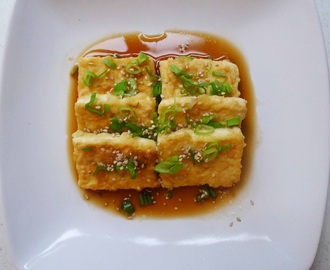 Simple Chinese Crispy Fried Tofu