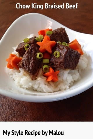 Chow King Braised Beef Recipe…My Style!