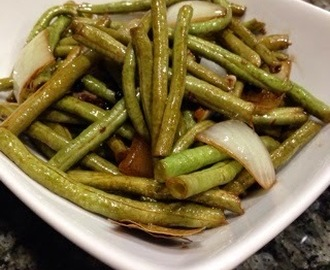 Adobong Sitaw (Stringbeans Adobo)