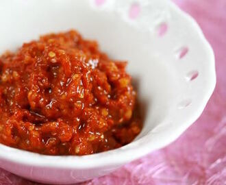 [Weekend Herb Blogging] Indonesian SambaL Terasi