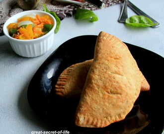 calzone - Whole wheat Calzone - Snack Recipe  - Kids friendly Snacks - Baking Recipes - Eggless Baking