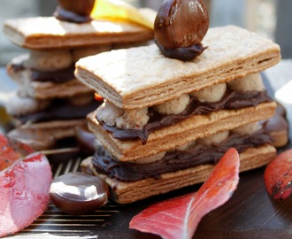 Mille-feuille: Daring Bakers Challenge, October 2012.