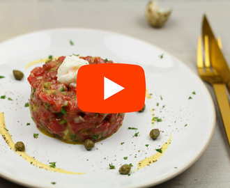 De beste steak tartare! (Video!)