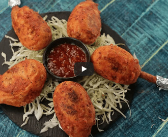 Paneer Lollipop Recipe Video