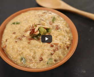 Sheer Kurma Recipe Video