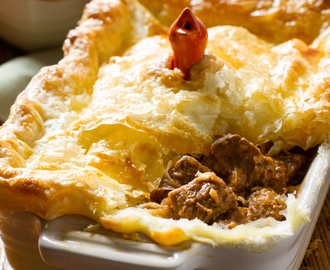 Curried Beef Pie