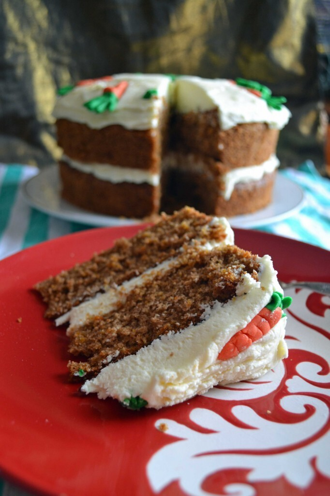Carrot Cake with Lemon Buttercream