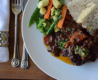 Insanely delicious wine braised oxtail that'll have your friends and family begging for more