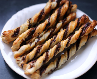 Nutella and Chocolate Chips Twist