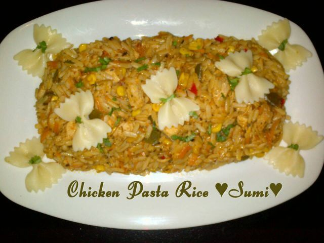 Chicken Pasta Rice