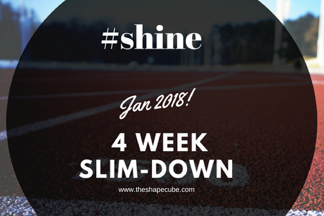 4-week slim down weight loss challenge.