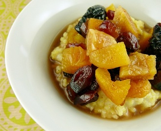 Proso sa kompotom od suvog voća / Millet With Dried Fruit Compote