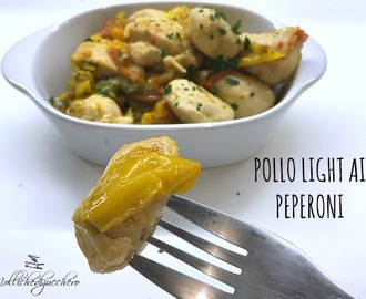 Pollo light ai peperoni