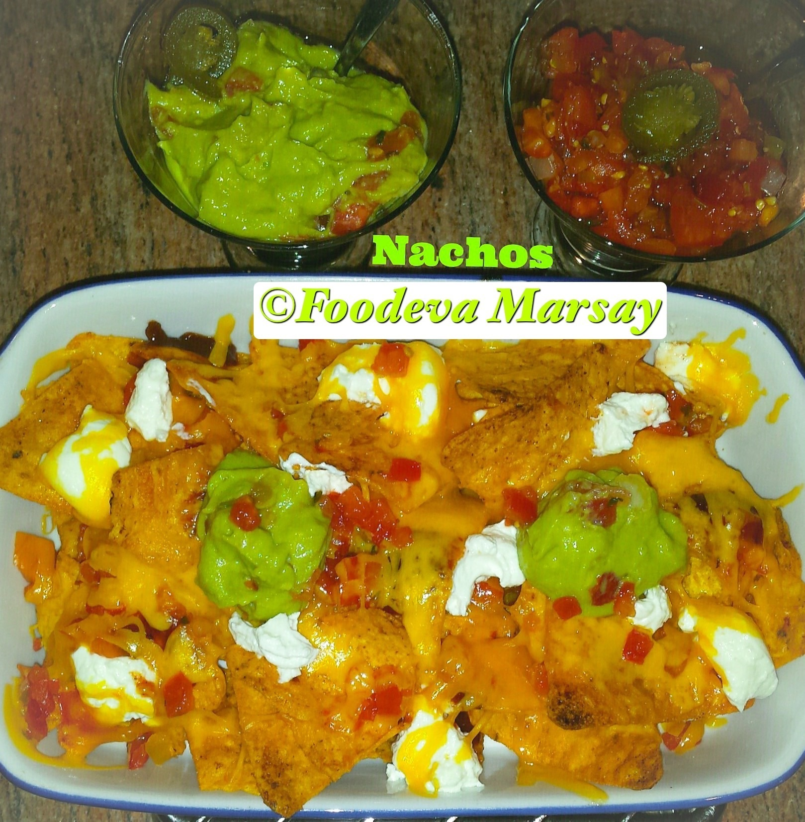 Nachos…DIY, the easy way;)