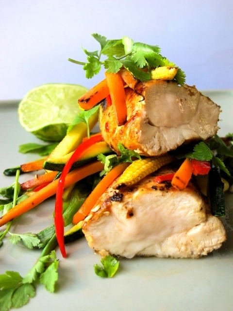 Thai Coconut & Lime Marinated Chicken