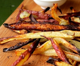 "Skinny Sweet Potato ""Fries"""
