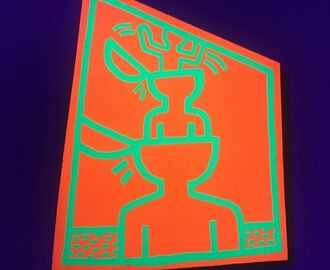 Finally saw the great show in Vienna. #keithharing #albertina #thinkoutsidethebox
