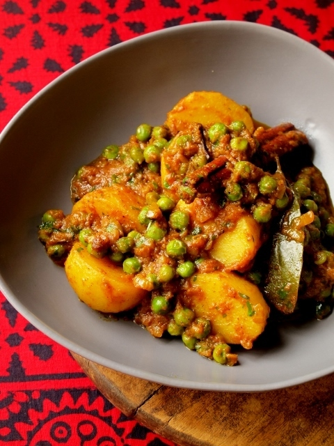 The Muddled Pantry wrote a new post, Aloo Mutter (Peas & Potato Curry), on the site The Muddled Pantry