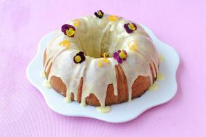 Eggless Orange Poppy Seed Cake