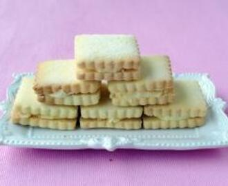 Almond Cream Biscuits