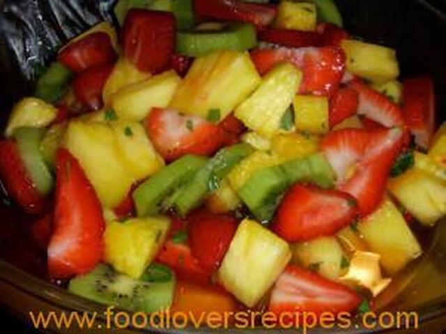 MINTED MIXED FRUIT SALAD