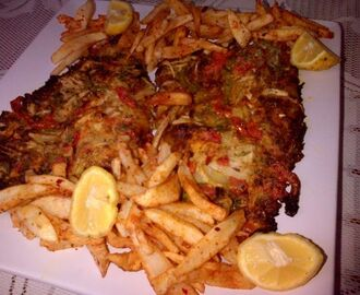Amigos grilled fish