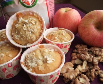 Healthy Oatmeal Apple Muffin