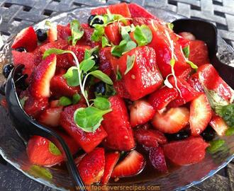 STRAWBERRY WATERMELON SALAD