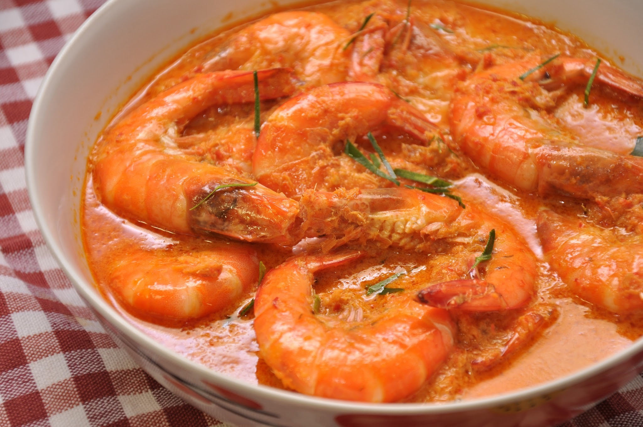 Indonesian Curry Prawns -印尼咖喱虾