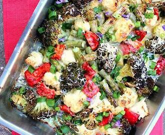 DADS EASY VEGETABLE BAKE
