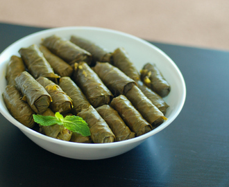 Dolmathes – Stuffed Grape Leaves