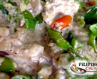 Bicol Express (Chili and Pork in Coconut Gravy)