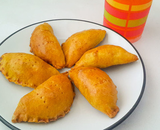 jamaican beef patty in all its golden glory