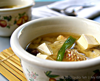 Snapper Miso Soup [Y3K Recipes Issue No. 59]