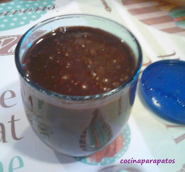 CREMA DE CHOCOLATE DOBLE AVELLANA (Thermomix)