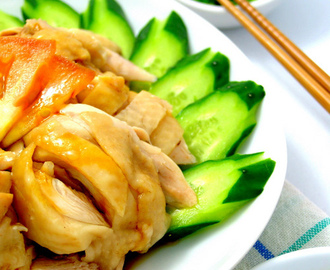 Hainanese Chicken Rice [A Must Eat Dish in Malaysia or Singapore]