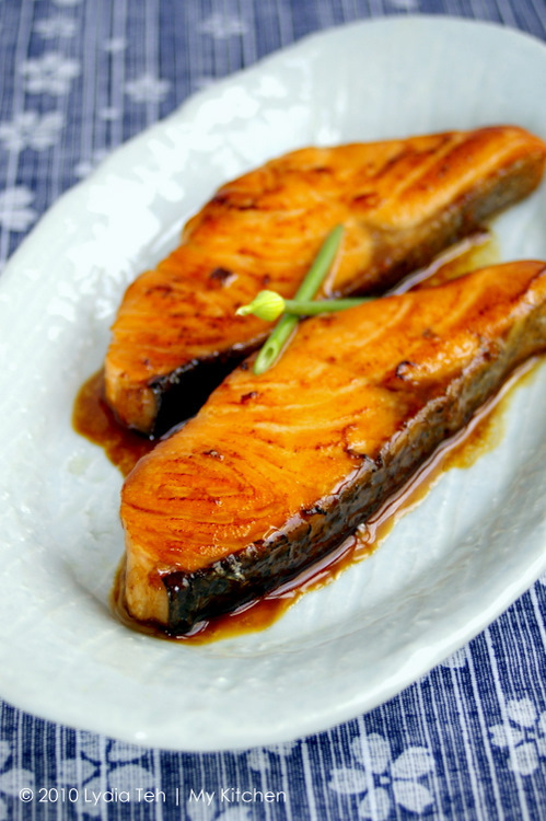 Salmon Teriyaki [Japanese Food at Home]