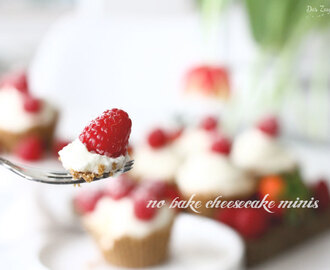 | MINI CHEESECAKES – no bake |