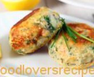 FISH CAKES WITH HAKE