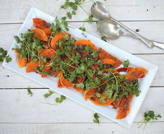 Kate Liquorish wrote a new post, Butternut and Coriander Salad, on the site undomestikated