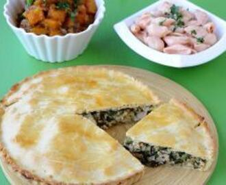 Chicken and Spinach Pie